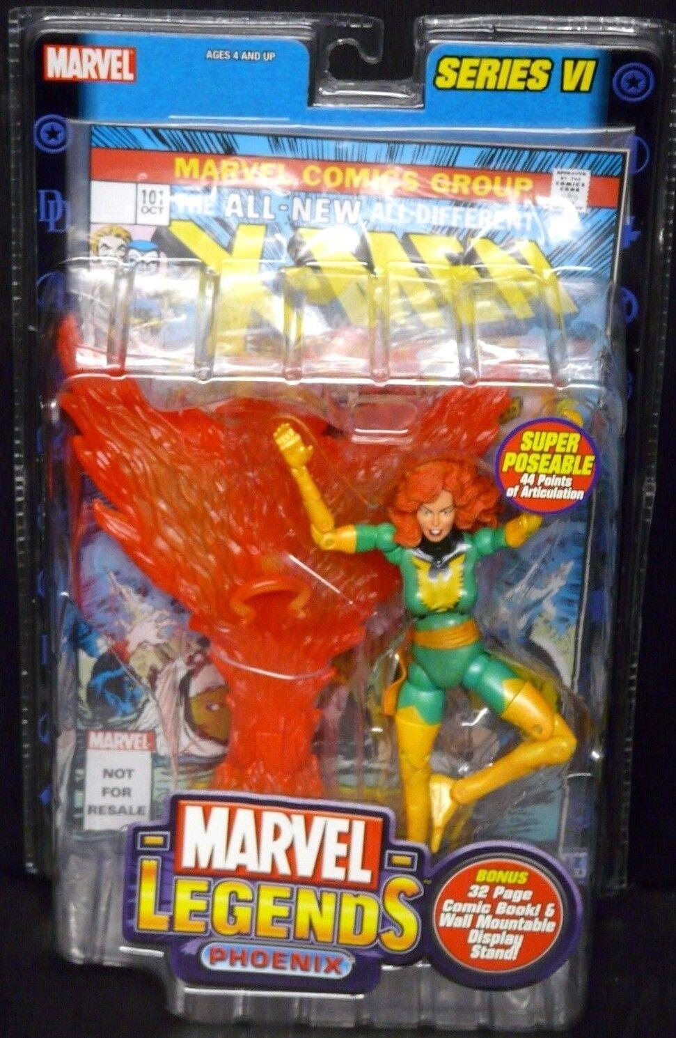 Marvel Legends Series VI (6) PHOENIX New  Rare  X-Men Jean grau