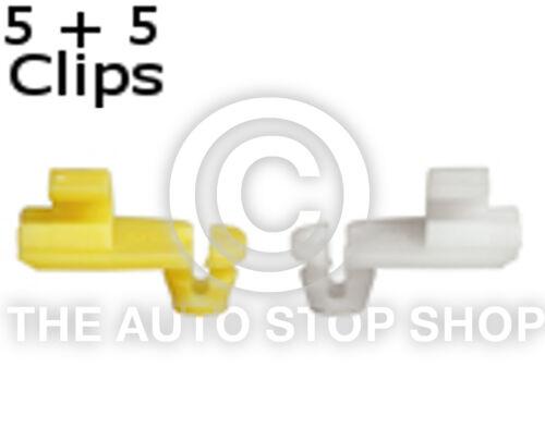 Door lock Rod Clip 4 MM Renault Messenger//Thalia etc 1277re Quantity 5 5