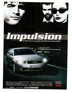 2003-AUDI-A3-Original-Print-AD-Impulsion-poster-movie-by-Wim-Wenders-French