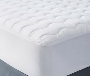 Quilted-Microfibre-Mattress-Protector-Fitted-Sheet-Bed-Extra-Deep-Fill-All-Sizes