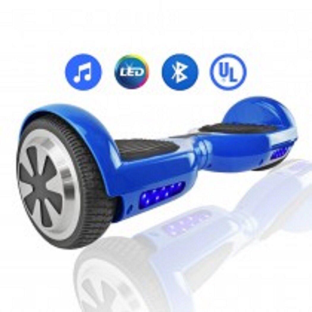Self-Balancing Scooter  6.5   UL2272 Certified w blueetooth---bluee-----brand new