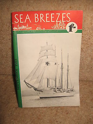 Sea Breezes ~ The Ship Lovers' Digest No 93 Vol 16 September 1953 Illustrated Kunden Zuerst