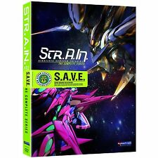 Str.A.In. Strategic Armored Infantry . Complete Series Strain . Anime . DVD NEU