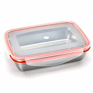 Food Storage Container STENLOCK Stainless Steel Side lunch Box
