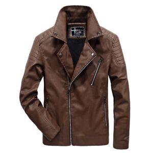 Motor-Bike-Big-amp-Tall-Riders-Leather-Jacket-Harley-Davidson-Biker-Winter-Jacket