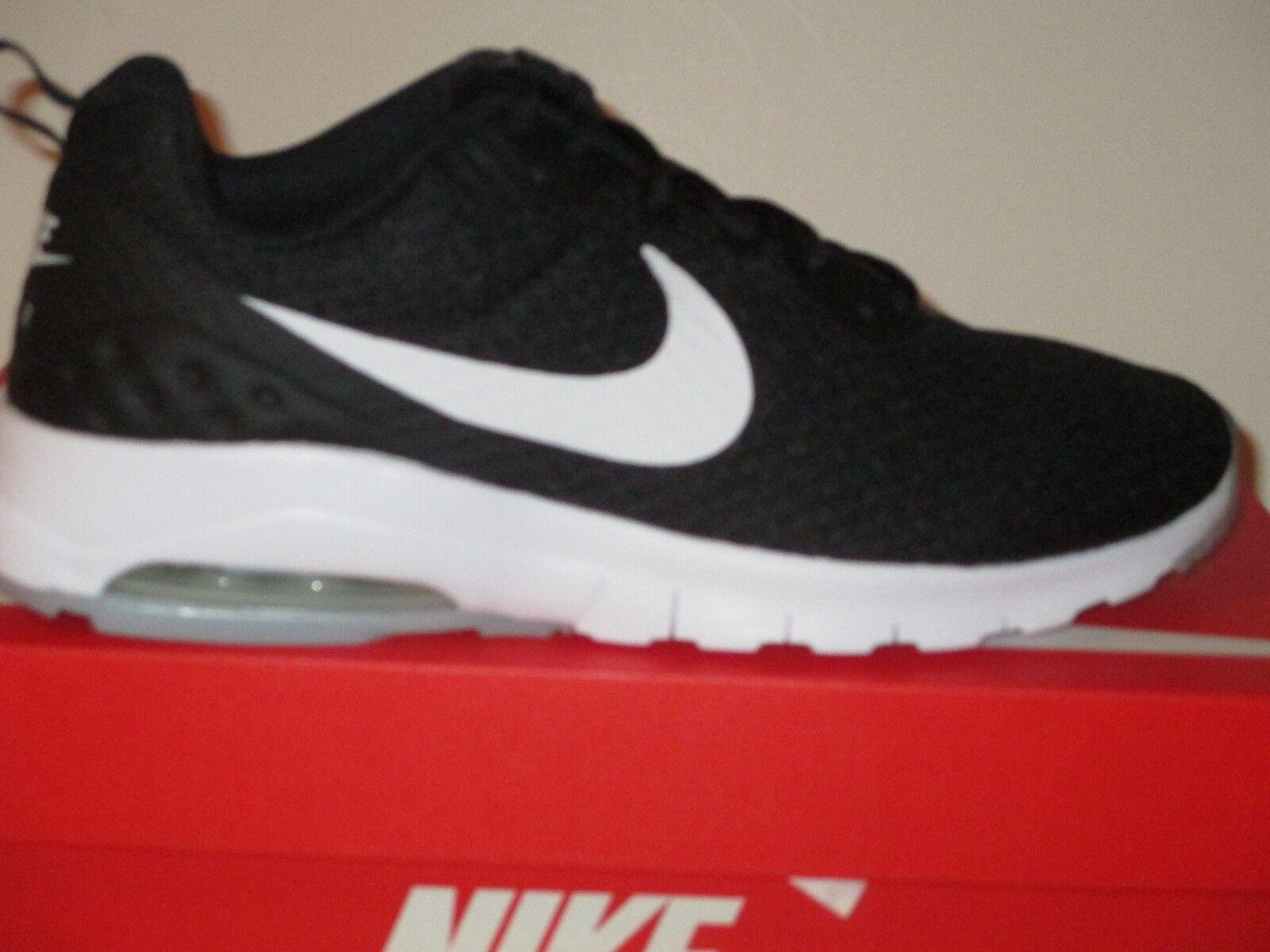 Nike air max motion - - - schwarz / weiß (komfort sockliner) männer 88579a