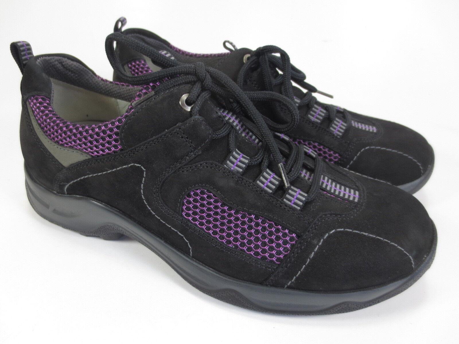 WALDLÄUFER Hadel Komfort Leder Schuhe Halbschuhe Gr. 37,5 UK 4,5 H  074 lila