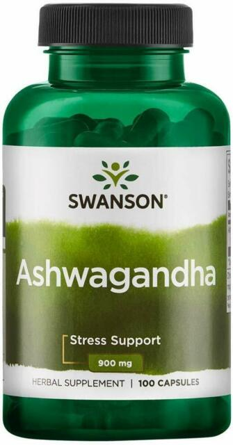 Swanson Ashwagandha 450mg 100 capsules Winter Cherry IMMUNE & STRESS SUPPORT