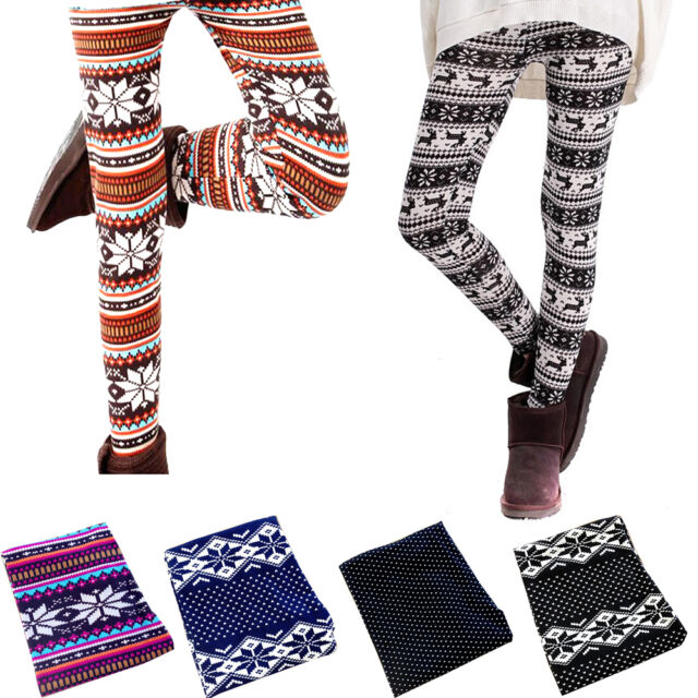 Thin for Autumn Lady's Sexy Skinny Colorful Print Leggings Stretchy Leggings