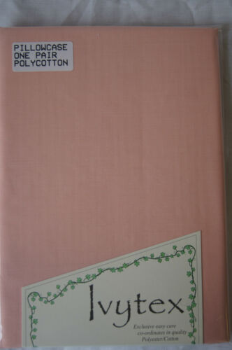 UK Made Polycotton Easy Care Fitted sheets Flat sheets /& Pillowcases
