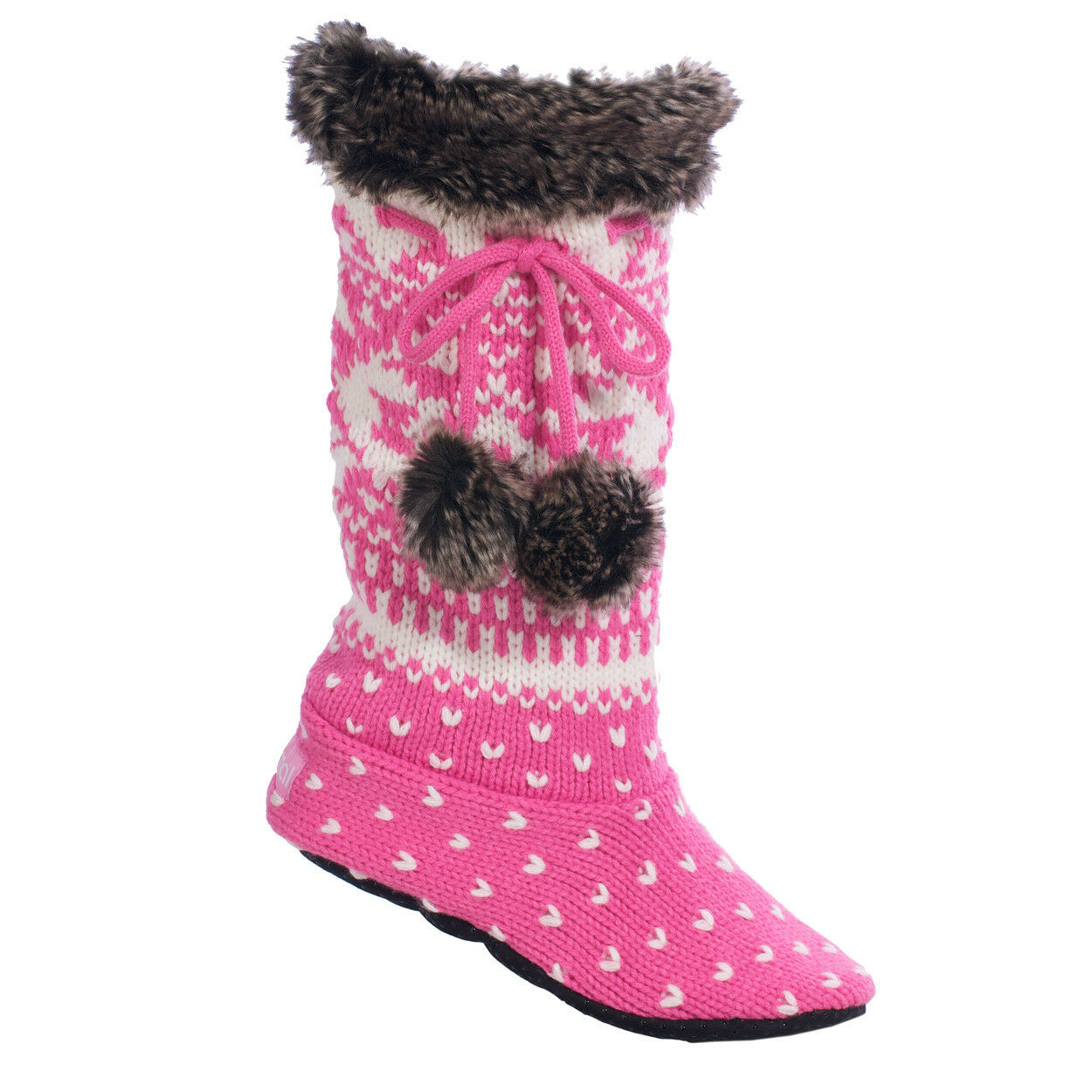 Animal Katia Sock Slippers in Wild Orchid