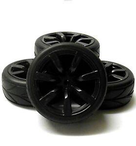 Hs211030b-1-10-Scale-Rc-Car-On-Road-Rueda-banda-de-rodadura-de-neumaticos-de-plastico-negro-7-hablo