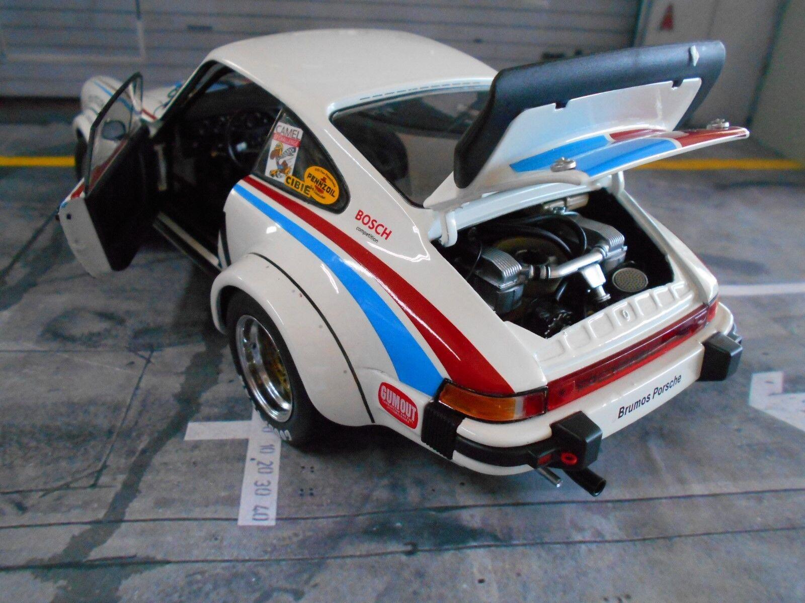 Porsche 911 911 911 934 rsr 24h Daytona 1977 Brumos #61 Gregg superproduction schuco 1:18 NEUF | D'être Très Apprécié Et Loué Par Les Consommateurs  d4612a