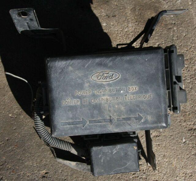 Ford F250 Super Duty Power Distribution Box Fuse Box 1999 ...