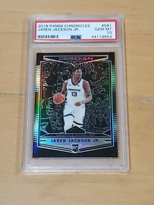 2018-Panini-Obsidian-Jaren-Jackson-Jr-RC-PSA-10-POP-1-Ultra-Rare-Preview-Card