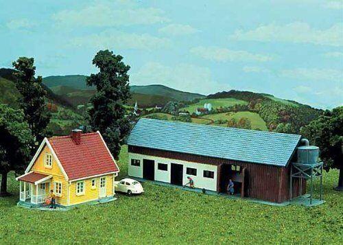 137 NEU Spur HO Bausatz Bauernhof