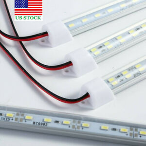 2PCS 50cm 36LED 5730 SMD Interior Strip Light Bar Lamp Car Van Caravan Trailer