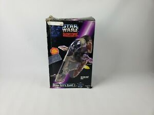 Kenner Star Wars 1996 Shadows Of The Empire Boba Fett's Slave 1 - Incomplete.