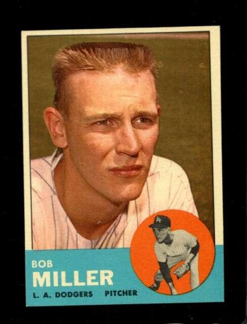1963 TOPPS #261 BOB MILLER NM DODGERS *SBA4045