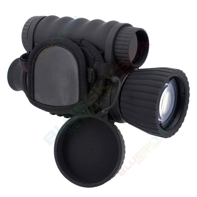 Portátil Monocular visión nocturna por infrarrojos Caza alcance zoom 6X50  Dvr P6 registro  ventas en linea