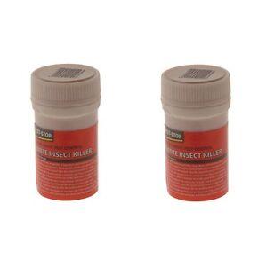 2x Pest-stop Fumite Insecte Tueur 3.5 G Tue Mouches Insectes Ant Cafards Punaises-afficher Le Titre D'origine