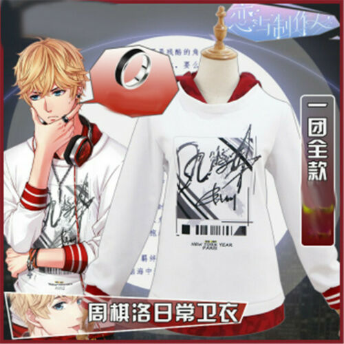 Love and Producer Zhou QiLuo T Shirt Hoodie Sweatshirt Cosplay Daily Casual Wear