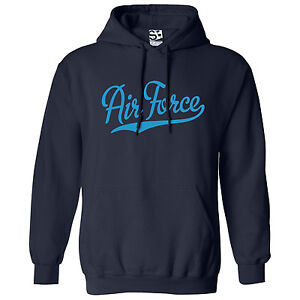 Air-Force-Script-amp-Tail-HOODIE-Hooded-Sweatshirt-All-Sizes-amp-Colors