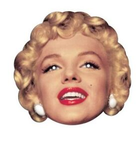 Marilyn-Monroe-Single-2D-Card-Face-Mask-Great-for-Hollywood-Themed-Parties