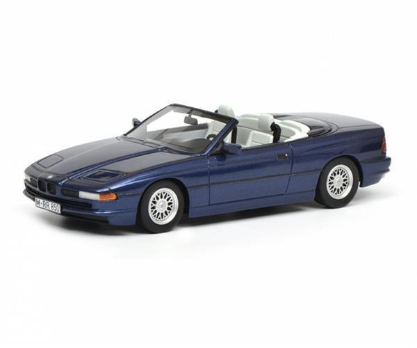 Schuco BMW 850i Cabriolet blu 1 18 450006900