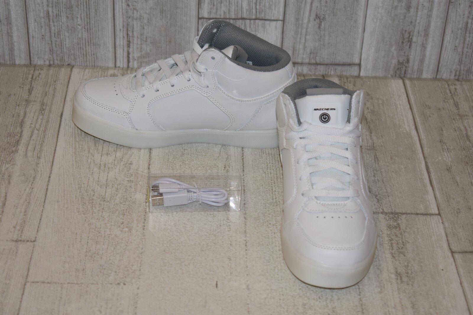 skechers white shoes kids