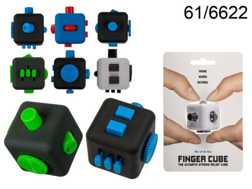 cubo per Dita Mano dado cubo Spinner 3,5 cm gioco antistress