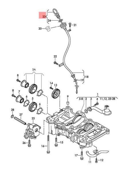 Volkswagen Fox Fuel Pump Diagram