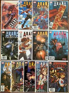 Araña: Heart of the Spider #1-12 Complete Series + One-shot. Rare Newsstands.