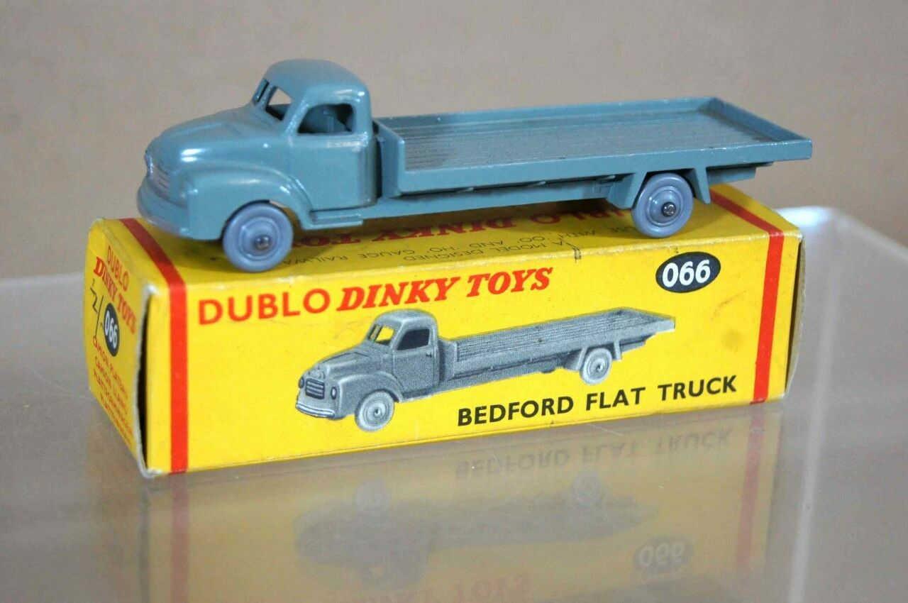 Dinky dublo 066 hornby bedford camion camion Plat Menthe boxed ow