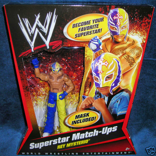REY MYSTERIO WRESTLEMANIA MASK WWE WWF WCW ECW RAW NEW FAST NEXT DAY SHIPPING