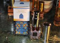Ispahan Black Solide Parfum 7ml - Opium Musk Rose Otto Natural Perfume Spray