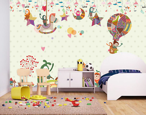 3D Trojan Horses Balloon Paper Wall Print Wall Decal Wall Deco Indoor Murals