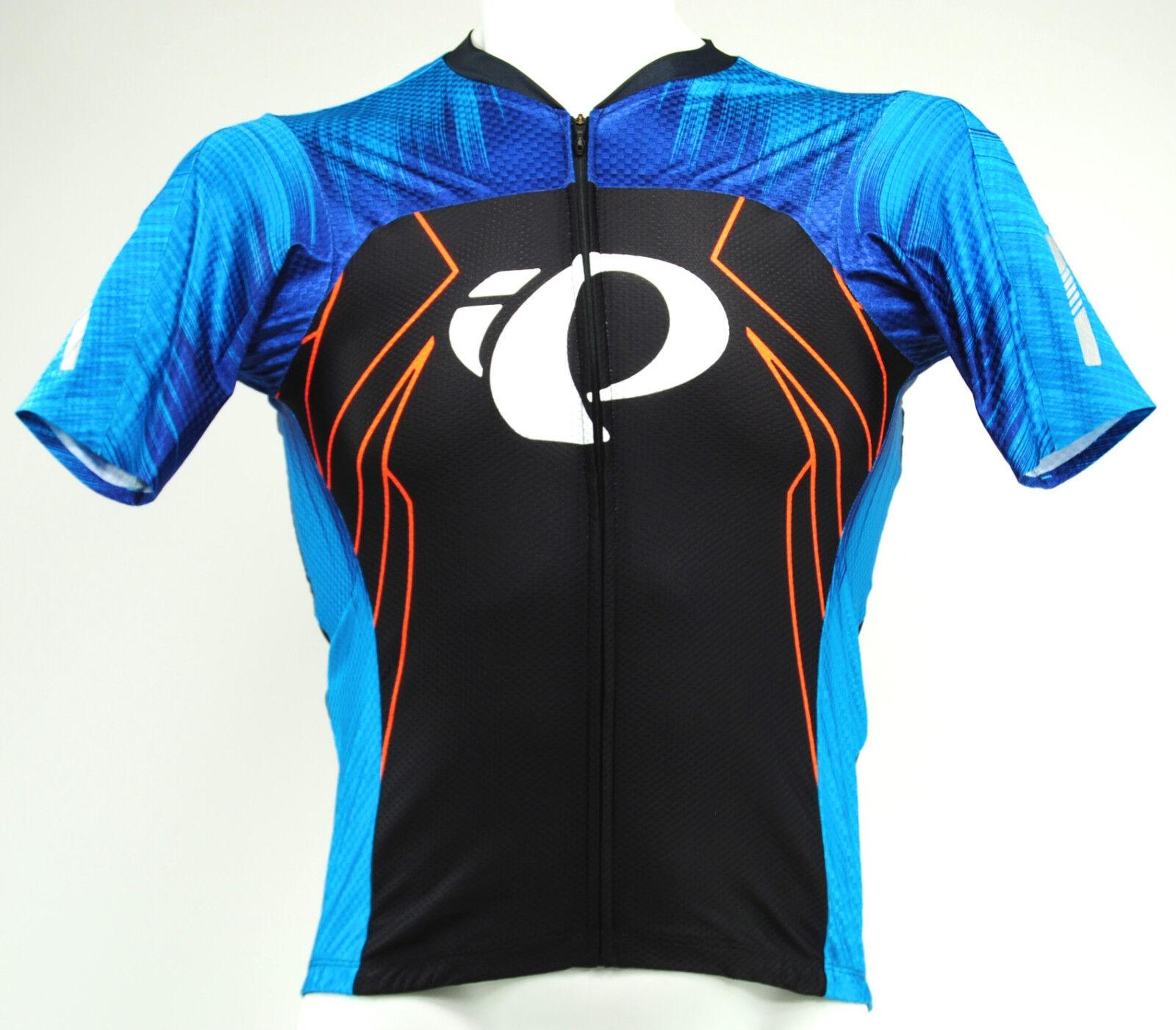 Pearl Izumi 2017 P.R.O. PRO Pursuit Speed Bike Jersey Team Bel Air bluee, Medium