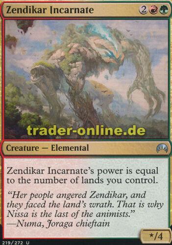 Inkarnation Zendikars Magic Origins Magic 2x Zendikar Incarnate