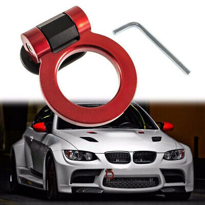 Blue Car SUV Auto Tow Front Trailer Tow Hook Decorative Racing Truck Bumper UK