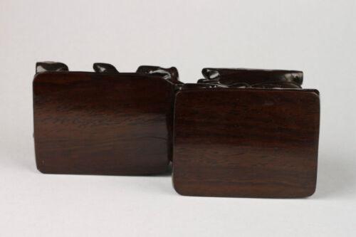 Collection Handmade Old Elegant High-grade Wood Snuff Bottle Base
