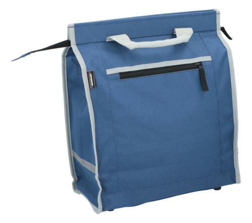 Dunlop bicicleta bolsa de compras azul bolso bicicleta impermeables alforjas