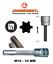 "100 MM Details about  /Jonnesway S63H4310 RIBE Bit Socket M10-10mm 1//2/"" Drive  L"