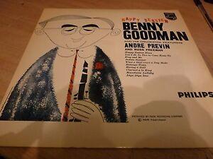 BENNY-GOODMAN-HAPPY-SESSION-ORIGINAL-PHILIPS-LP-IN-TRUE-MINT