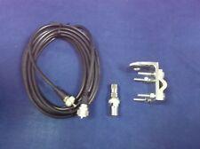 18FT RG8X COAX Monkey Made MM9 CB Radio Antenna Medium Shaft BRACKET /& STUD
