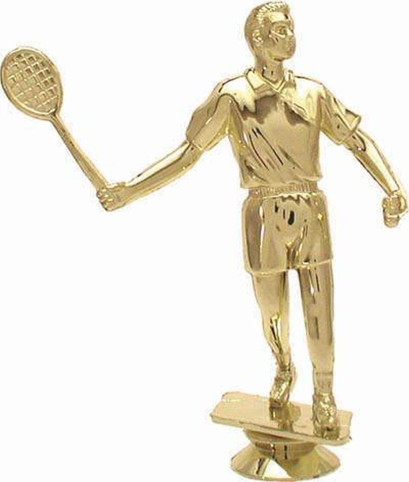 15 figuras badminton caballeros 3d con mármol zócalo (trofeo trofeos medallas torneo)