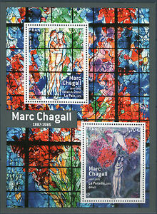 BLOC-F5116-OU-TIMBRES-5116-5117-NEUFS-XX-Chagall