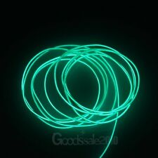 9FT Neon LED Light Glow EL Wire String Strip Rope Tube Car Dance Party + Battery