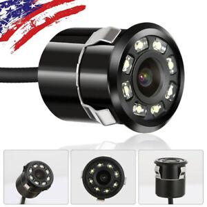 New-Waterproof-CMOS-Car-License-Plate-Rear-View-Backup-Night-Vision-Camera-USA