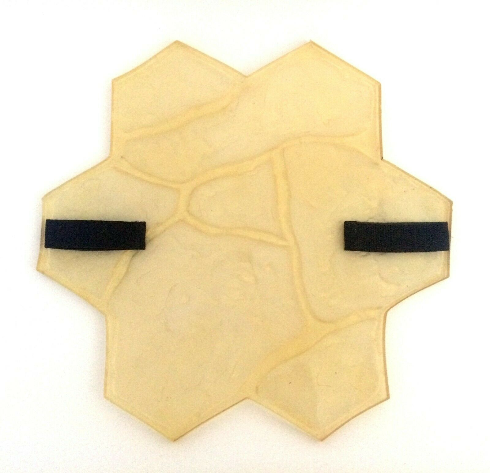 POLYURETHANE RUBBER STAMP STONE Flower for Printing on CONCRETE CEMENT Grünical